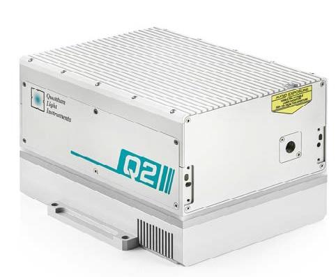 高脉冲能量调Q纳秒激光器
